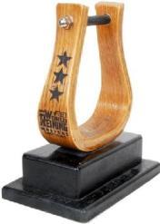 Stirrup Trophy Our amazing lasered stirrup on a custom base. $60