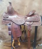 "16""-KO Elite Cowhorse Saddle- KOE-2313R"